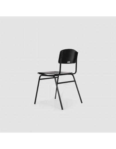 Стул Jean black & white